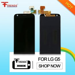 Wholesale G5 Free Shipping - for LG G5 LCD Display with Touch Screen Digitizer Assembly Original High Quality H830 H820 VS987 LS992 H860 H850 Wholesale Free Ship