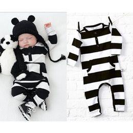 Wholesale Long Sleeve Bodysuit 12 Months - Baby Clothes Newborn Infant Baby Boy Girl Kids Cotton Romper Jumpsuit Bodysuit Clothes Outfit Long Sleeve Jumpsuit Child Winter Clothes