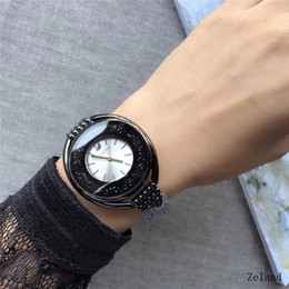 Wholesale Sparkle Battery - big bang luxury sparkling Austrian crystal is integrated into the size of the women quartz watch at 37mm -43mm