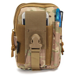 Wholesale College Wallets - Outdoor Bags Sport Bag Tactical bag Molle Oxford Waist Belt Bags Wallet Pouch Purse Outdoor Sport Pack Camping Hiking Bag