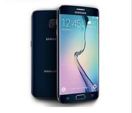 Wholesale Galaxy Lte - Refurbished Original Samsung Galaxy S6 Edge G925F Unlocked Phone Octa Core 3GB RAM 32GB ROM 4G LTE 16MP 5.1