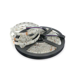 Wholesale Leds Reel - 50M LOT DC 12V 5M Reel 5050 SMD150 Leds LED Strip Light Flexible 30led m LED Tape light IP65 Waterproof