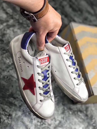 Wholesale Old Pvc Women - 2017 Golden Goose GGDB shoes silver sequined star with a little old men and women shoes dirty shoes