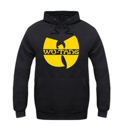 Wholesale Hoodie Styles Men - Wholesale-wu tang clan hoodie for men classic style winter sweatshirt 5 style sportswear hip hop jacket clothing fast shipping ePacket