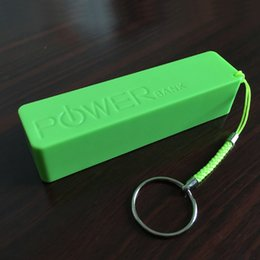 Wholesale Perfume Mobile Phone Power Bank - 6 Colors Universal 2600MAH Perfume power bank Mini Emergency mobile Charger portable External bankup battery for Mobile Phone by Fedex UPS