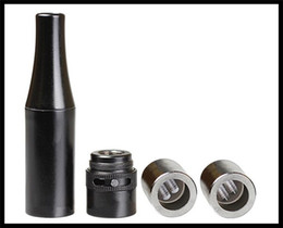 Wholesale Metal Forges - forge Dual Quartz Coils W5 airflow Atomizer Vaporizer wax Dual Quartz Coils Rebuildable Black Metal Vaporizer vs Skillet Tank