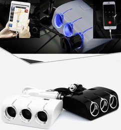 Wholesale Phone Distributors - Car cigarette lighter with switching power supply distributor phone charger