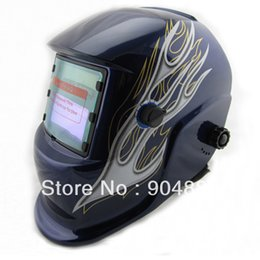 Wholesale Cheap Tig - Best quanlity Cheap Li Battery+Solar auto darkening welding helmet  mask for the TIG MMA MIG MAG weld and plasma cutter