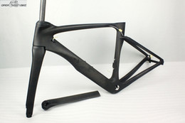 Wholesale Aero Carbon Fork - 2016 New Aero Road Bicycle VISA Carbon Frame Fork Seatpost Wheelset Road Racing Bike