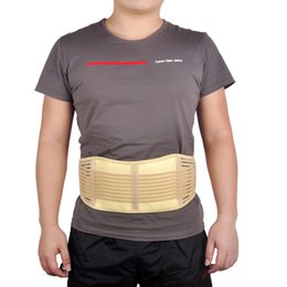 Wholesale Strap Massager - Magnetic Slimming Massager Belt Lower Back Support Waist Lumbar Brace Belt Strap Backache Pain Relief Health Care Adjustable Belt