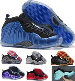 Wholesale Culture Gold Pearls - Sale Air Basketball Shoes Sneakers Men's Women Blue Man One Pro Sports Shoes Pearl Penny Hardaway Shoes Size:5.5-13