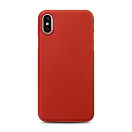 Wholesale Iphone Sand Cases - For iphone shell case manual super thin 0.35 mm anti-slam wear sand iphone 8 phone case