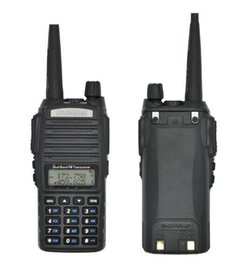 Wholesale High Power Ham Radios - 2pcs Lot 10 Km Baofeng Uv-82 Real 8W Baofeng With High Mid Low Power UV 82 Ham Radio Station amateur Portable Radio Walkie Talkie 10km