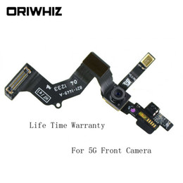 Wholesale Iphone Front Cam - Best Arrival For iPhone 5G 5S 5C 6G 6Plus 6S 6Splus Proximity Sensor Light Motion Flex Cable Front Facing Camera Cam Small Camera