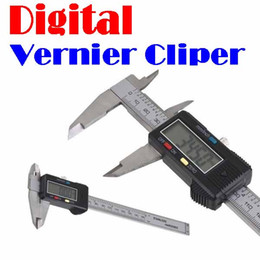 "Wholesale Digital Mm Gauges - Wholesale-by dhl or ems 50 pieces 150 mm 6"" 6 inch Digital Vernier Caliper Gauge Micrometer LCD"