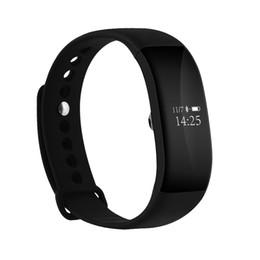 Wholesale Blood Test Meter - V66 intelligent bracelet bluetooth heart rate sleep test step motion meter calorie information remind waterproof quick chargeSuper-long stan