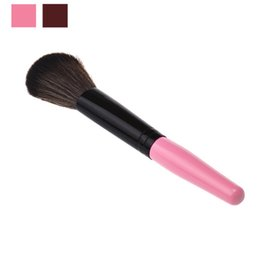 Wholesale Pictures Cosmetics - Wholesale- 2016 new style Cosmetic Makeup Brush as the picture shows Wooden Handle + Nylon Hair Makeup Brush Anne