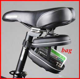 Wholesale Used Mountain - 2016 fashion Cycling bike EVA bag used for Bike Saddle Seat Rear going to mountain accessory for bike OUT004