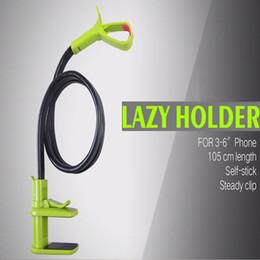 Wholesale Desktop Cases - 360 Rotating Flexible Long Arm Cell Phone Holder Stand Lazy Bed Desktop Tablet Car Selfie Mount Bracket for Cell Phone