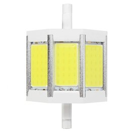 Wholesale R7s 78 - Dimmable Non Dimmable R7S 10 15 20 25W 78 118 135 189MM Pure Warm White COB SMD LED Floodlight Spot Corn Light Bulb Lamp 85-265V