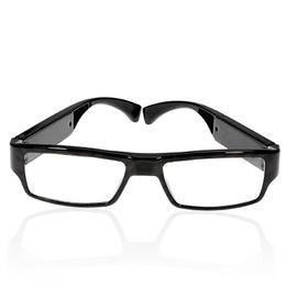 Wholesale Spy Camera Lens Glasses - Perfect Hidden Undetectable Lens Spy Eyewear Glasses Camera 1280x720 HD Video Recorder Mini Sunglasses Camera Portable DVR DV Candid Camera