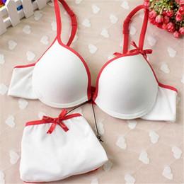 Wholesale Bra Knickers - Wholesale-Seamless Women Push Up Lingerie Set Underwear Padded Bra + Knickers Boost 32-36B