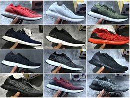 Wholesale Outdoor Tech - Ultra Boost Uncaged Triple White Black Tech Earth LTD Real Boost Running Shoes Sports Sneakers for Men Women ultraboost Primeknit Runners