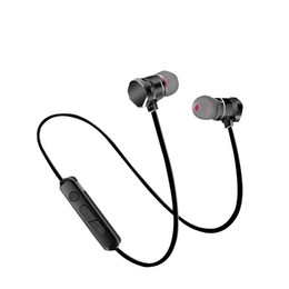 Wholesale Work Bluetooth Headset - Bluetooth Earphone X3 sport Headphone Waterproof Sweatproof 10M Distance Several hours Working Time V4.1+EDR Stero Headset for iphone X 8