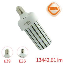 300W cfl remplacement E39 E40 smd bridgelux puce 100w a mené la lumière d'ampoule de maïs avec le ventilateur 5 ans de réverbère de garantie ? partir de fabricateur