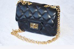 Wholesale Girls Princess Backpack - New arriavls children girls handbag kids fashion shoulder bag princess golden chain fashion bag free shipping