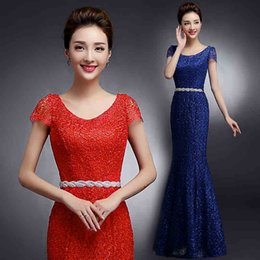 Wholesale Designer Bandage Dresses - New Designer Celebrity Evening Dresses Mermaid Long Formal Prom Gowns 2017 Elegant Lace Dresses Party Evening Gowns