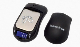 2019 escamas de mouse Novo Criativo Mouse MINI Escala Eletrônica 100g / 0.01g Backlight Módulo de Alta Precisão Escala de Jóias de Bolso Digital Livre enviar DHL escamas de mouse barato