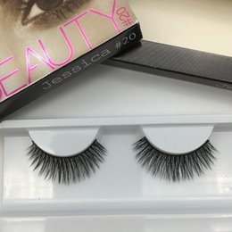 Wholesale Human Hair False Lashes - HOT HB False Eye Thick Natural Fake Eye Lashes Eye Lashes Handmade Free Shipping 60 pair lot