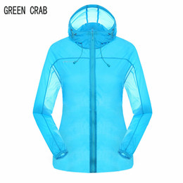 Wholesale Trek Summer Cycling - Wholesale-Female Cycling&Fishing Jacket UV Protection Hunting&Trekking Jacket Summer Women Quick Dry Outdoor Skin Jackets Brand