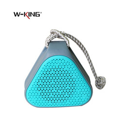 Wholesale Mini Sound Dock - Wholesale- W-KING S2 Mini Portable Waterproof Bluetooth Speakers Wireless Outdoor Music Sound Box Loudspeaker with FM Radio TF Card