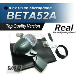 Wholesale Free Bass Sounds - Sale Free Shipping!! BETA52 Kick Drum Bass Instrument Microphone Professional BETA Sound System For Stage Show Studio 52A New Boxed!!