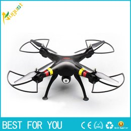 Wholesale Wholesale Professional Rc - Original Syma X8W 2.4G 6 Axis Gyro 4CH RC FPV Quadcopter RTF Wifi Professional Drones with 2.0MP Camera HD Helicpoter new