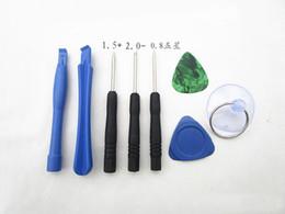 Wholesale Iphone Opening Kit - 8 in 1 Screwdriver Sucker Pry Repair Opening Tool Kit Set For iphone 4 4s 4g 5 5c 5s 6 6plus
