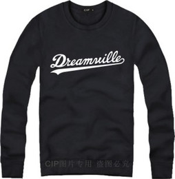 Wholesale Dreamville Hoodie - Wholesale-Dreamville popular o-neck hoodies singer J.COLE pullover Jermaine Cole same style sweatshirts
