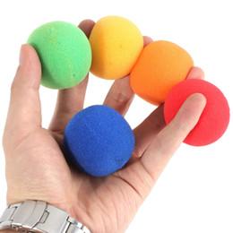 Wholesale Magic Sponge Size - Wholesale- High quality Hot Sale multicolor Close Up Magic Street Classical Comedy Trick Soft Sponge Balls 4.5cm large size