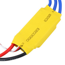 Wholesale Motor Quad - 1pc 30A Brushless Motor Speed Controller Control RC BEC ESC for 450 Helicopter 450 550 mm Quad Multi Copter [Free Shipping]