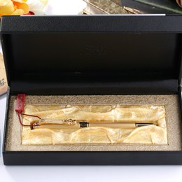 Wholesale Dragon Gift Pen - Jinhao 1000 Luxury Silver and Gold Dragon Clip Fountain Pen with Original Box Gift Pens Free Shipping