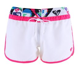 Wholesale Short Swimwear Women - Wholesale-Swimwear Board Shorts Women Quick Dry Polyester Printed Pattern Size S M L ZH392