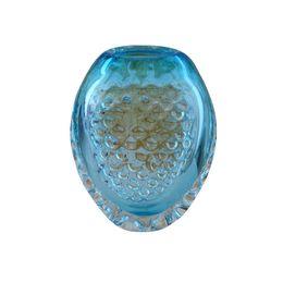 Wholesale Handicraft Fan - Blue Vase Ornaments Romantic Murano Glass Vase High Quality Handicraft Ornaments with Bottles for Home Decor