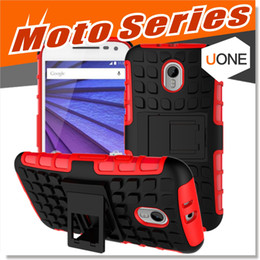 Wholesale Red G2 - For Moto G G2 G3 E E2 Cases MOTO X Play X3 hybrid Case Compatible With Moto Series Hard Shell 2 in 1 Tough Protective Cover Skin
