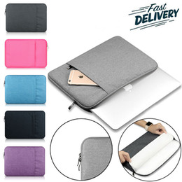 Wholesale laptop carrying - Laptop Sleeve Drop-proof Dust for 13-15 inch Notebook Bag For iPad Pro Apple ASUS Lenovo Dell,Portable 360° Protective Carrying Case Bag