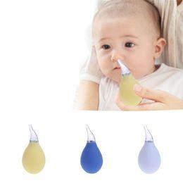 nariz do bebê limpo Desconto Recém-Nascidos Crianças Bebê Nasal Recém-Nascidos Aspirador de Aspiração Nasal Suave Ponta Muco Aspirador Nariz Corrimento Limpador Do Bebê Seguro Nose Cleaner