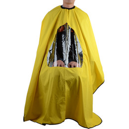 Wholesale Quilt Cutting - Pro Salon Barber Hair Cutting Gown Cape With Viewing Window Hairdresser Apron Email to friendsShare on Facebook - opens in a new window or t