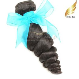 Wholesale Cheap Hair Products Free Shipping - Indian Hair Human Hair Extensions Unprocessed Hair Product Cheap 1 or 2 or3pcs lot Natural Color 8-30 Inch Bellahair Free Shipping