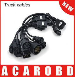 Wholesale New Cdp Plus Quality - New full set 8 cables cdp tuck cables tcs CDP pro plus auto truck cables best price and best quality